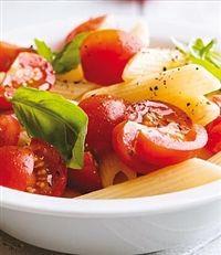 Weigh-Less Online - Spring Pasta Salad Caprese Salad, Pasta Salad, Eating Plans, Salads, Healthy Eating, Spring, Recipes, Food, Crab Pasta Salad