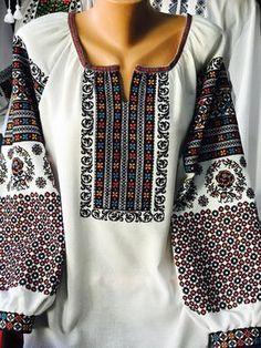 Polish Embroidery, Folk Embroidery, Learn Embroidery, Embroidery Dress, Embroidery Patterns, Folk Fashion, Ethnic Fashion, Ukrainian Dress, Palestinian Embroidery