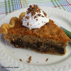 Gooseberry Patch Recipes: Chocolate Chip Cookie Pie from Come on Over