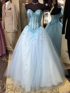 New arrival!! We love this beautiful #ballgown #prom2014 exclusive #promdress