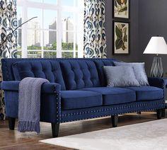 "Everett 90.5"" Tufted Sofa"