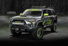 Toyota Four Runner 2016 Toyota 4x4, Toyota 4runner Trd, Toyota Trucks, Toyota Tacoma, Buy Truck, Jeep Truck, Jeep Zj, Toyota Four Runner, Sema 2015