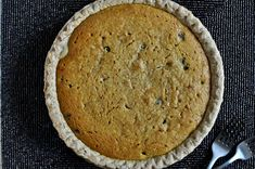 Chocolate chip pumpkin cookie pie.... must.... make.... soon... With enough substitutions it can be done!!