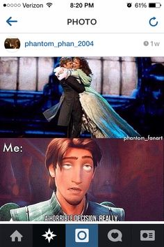 Haha Yeah. Boo! We want Phantom/Christine =)