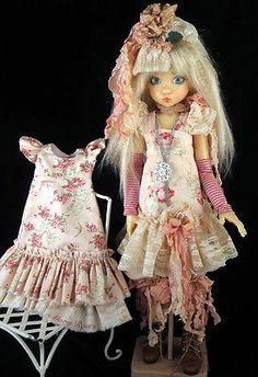 """Victorian Rose' fits Kaye Wiggs, Nyssa, Dollstown, MSD, BJD. LittleCharmersDoll"