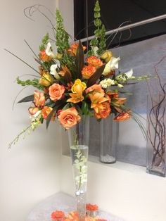 Sample flower center piece
