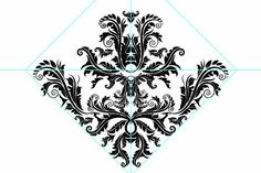 24 How to create a damask seamless pattern in Illustrator