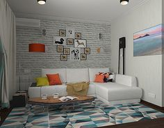 "Check out new work on my @Behance portfolio: ""living room in scandinavian stile"" http://be.net/gallery/47343895/living-room-in-scandinavian-stile"