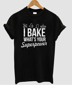 i bake t shirt