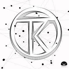 "LINE ""TK"" Logo"