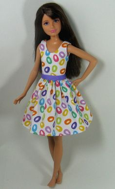 Skipper Doll Clothes  Jelly Bean Print by OhSoChicDollClothes, $7.50