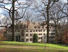 The Dupont House in Winter {Winterthur}