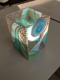 stained glass candle holders and night lights - Google Search