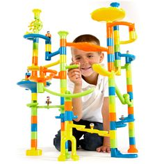 Super Fun Marble Run by Fat Brain Toys - $29.95 (cheaper version if need be)