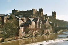Durham Castle by the River Wear, Durham, UK Durham Cathedral, Cathedral Church, Durham Castle, Maine, St Johns College, Homes England, St Cuthbert, Northern England, Kingdom Of Great Britain