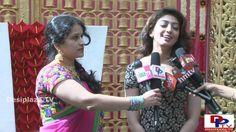 Telugu Movie Actress Pranitha speaking to the media at  NATA Convention ...
