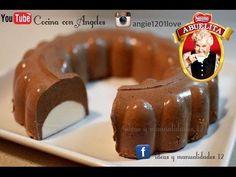 Gelatina CREMOSA de CHOCOLATE ABUELITA