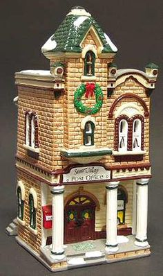 Village Post Office  Dept 56 Snow Village D56