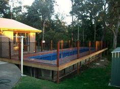 fibreglass slope pool deck google search
