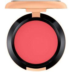 MAC Powder Blush, Vibe Tribe Collection ($23) ❤ liked on Polyvore featuring beauty products, makeup, cheek makeup, blush, beauty, adobe brick, mac cosmetics and powder blush