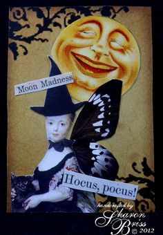 Unruly PaperArts: Very elegant witchy finery!