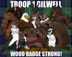 Wood Badge Critter Superheroes                                                                                                                                                                                 More