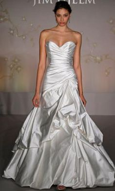 Jim Hjelm 8057 8: buy this dress for a fraction of the salon price on PreOwnedWeddingDresses.com