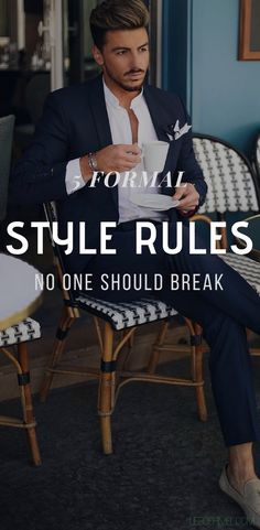 Don't get me wrong, I wholeheartedly believe in the praise, 'Rules are meant to be broken' But that being said, there are somethings that should never, and when I say never, I mean never should be broken. I just can't bear… #menstyletips #menstyle