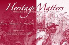 Online resource maintained by the Ontario Heritage Trust.