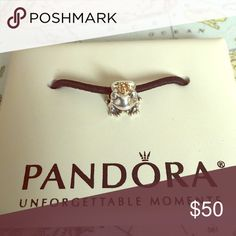 Pandora Frog Prince with 14k crown Authentic Pandora Frog Prince with 14k crown Pandora Jewelry Bracelets