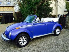 1977 VW KARMANN BEETLE  BLUE 1.6 INJECTION