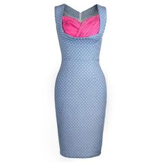 #Rosewholesale - #Rosewholesale Sweetheart Neck Polka Dot Bodycon Dress - AdoreWe.com