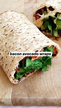Wrap Recipes For Lunch, Turkey Wrap Recipes, Healthy Lunch Wraps, Healthy Snacks, Dinner Recipes, Healthy Wrap Recipes, Lunch Ideas, Work Meals, Easy Meals