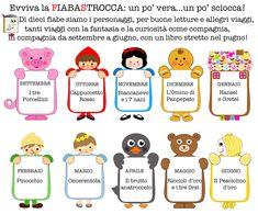Filastrocche Rime Creatività | Patrizianencinidee | Fiabastrocca Montessori, Kids Library, School Bulletin Boards, Helfer, Creative Teaching, Nursery Rhymes, Crafts For Kids, Classroom, Teacher