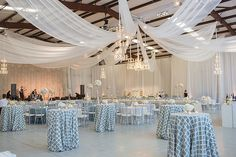 Ceiling Draping and wall draping #Eventdecor #simplyuniqueparteaz Thanks to Brides: This Pastel-Hued Wedding Was Held In a Very Surprising Location ...