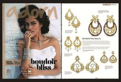 #Adorn #Magazine features Kalajee Jewellery #Jaipur