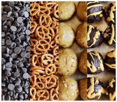 Peanut Butter Pretzel Truffles l Fit, Fun & Delish!
