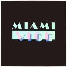 #Miami #Vice #TV show soundtrack vintage LP/Album #poster flat.  Only $11.99