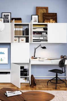It might be work, but it doesn't have to feel like it. All it takes is a comfy chair, home office furniture that keeps things organized, like the IKEA ALEX Desk, and the right lighting for the job. And by making it easier to tackle those to-do's, you'll have more time to spend on your wanna-do's.