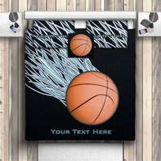 Personalized Comforter For Boys Kids Sports Bedding Basketball Bedding Sets Red Flames Basketball Comforter Twin Queen Full King 145 Boy Beds And