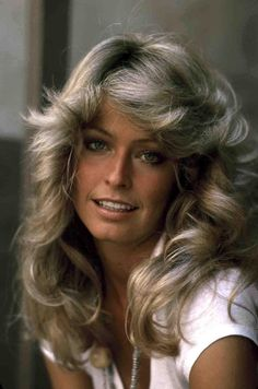 Farrah Fawcett - so beautiful...those were the big hair days! Anyone remember those days?