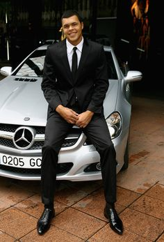 photo of Jo-Wilfried Tsonga Mercedes - car