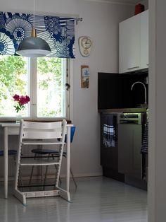 Wooden House, Marimekko, Loft, Table, Furniture, Vintage, Kitchen, Summer, Home Decor