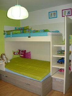 Dětský pokoj nová postel
