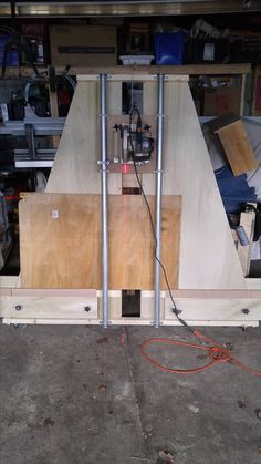 Homemade panel saw