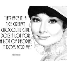 Audrey Hepburn Quote, 8x10 Fine Art Print by Wendy Hogue Berry ($15) ❤ liked on Polyvore