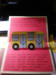 Retirement DIY pop-up card (inside)