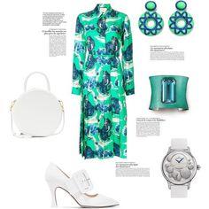 #1march #fashionofspring #springfashion #outfits 1. Gucci wildcat-print shirt dress #guccidress #dress #gucci #green #shirtdress _____ 2. Attico Elsa patent-leather pumps #atticoelsa #attico #pumps _____ 3. Mansur Gavriel Circle Leather Crossbody Bag #crossbodybag #mansurgavriel _____ 4. Jaquet Droz Petite Heure Minute Heure Celeste j005024533 Watch #jaquetdroz #petiteheureminute #wristwatch _____ 5. Hemmerle  Hemmerle is a fourth generation family run house at the vanguard of jewellery…