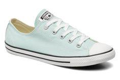 All Star Dainty Canvas Ox W Converse (grün) : stets kostenlose Lieferung Ihrer Sneaker All Star Dainty Canvas Ox W Converse bei Sarenza