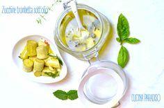 Zucchine trombetta sott'olio #cucinaparadiso #zucchine #sott'olio